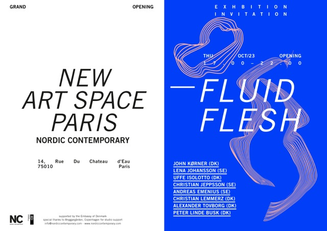 Fluid Flesh, Nordic Contemporary, Paris